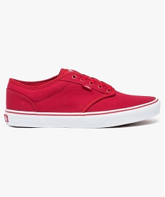 GEMO Baskets basses en toile - Vans MN Atwood Rouge