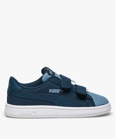GEMO Baskets enfant Puma Smash v2 Monster V Bleu