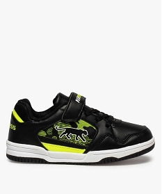 GEMO Baskets garçon multicolore - Airness Noir