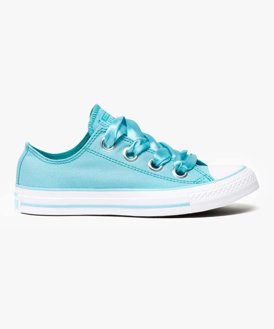 Gemo chaussures tennis en toile a lacets ruban - converse chuck ...