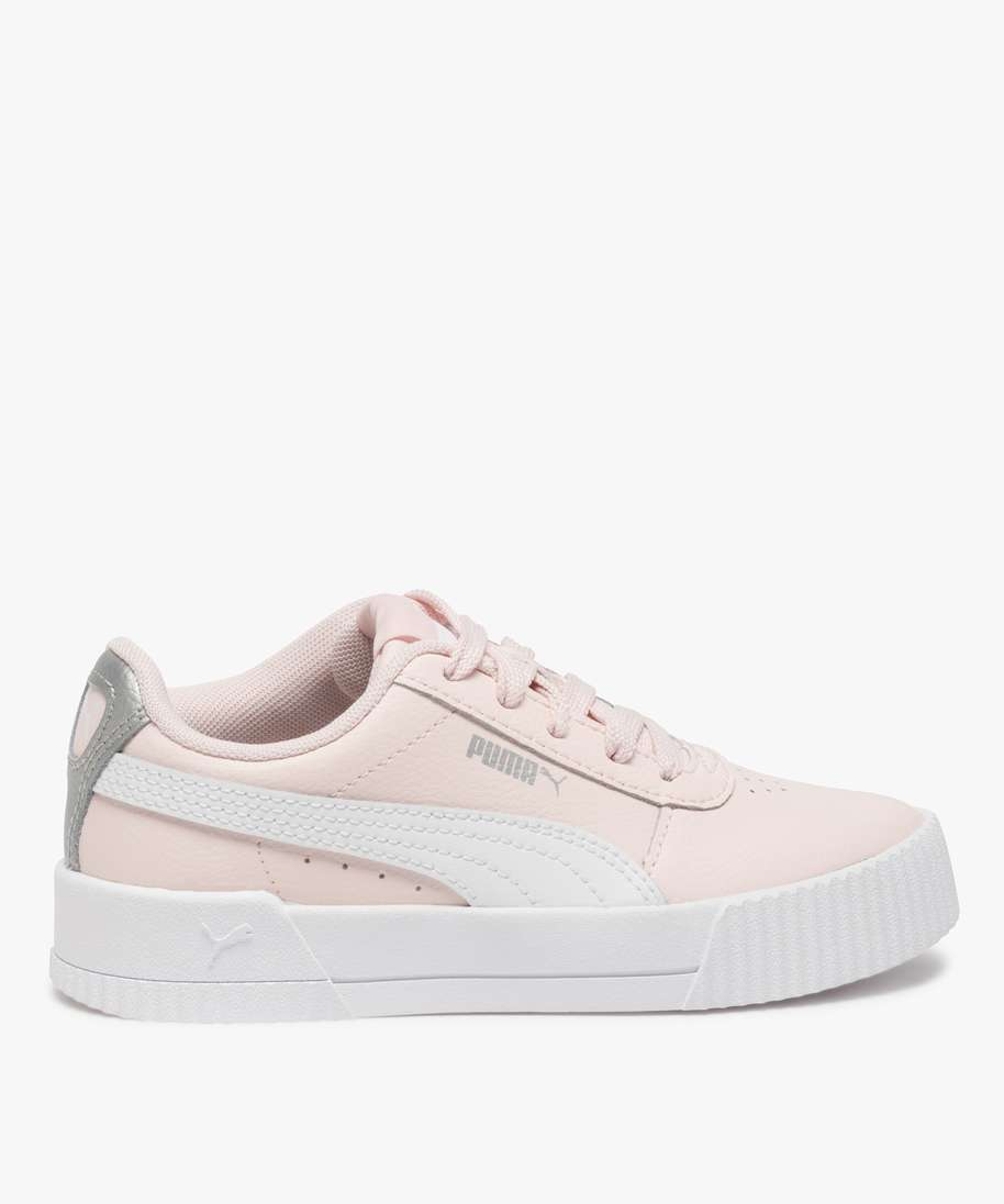 Gemo chaussures baskets fille bicolores a lacets - puma rose fille ...